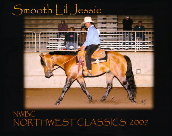 Smooth Jessie Stallion Triple C bloodline